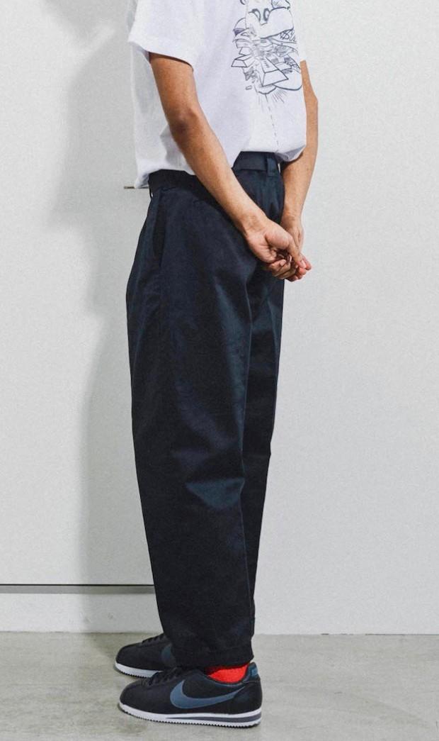 坩堝 - 478 CHINO TUCK PANTS