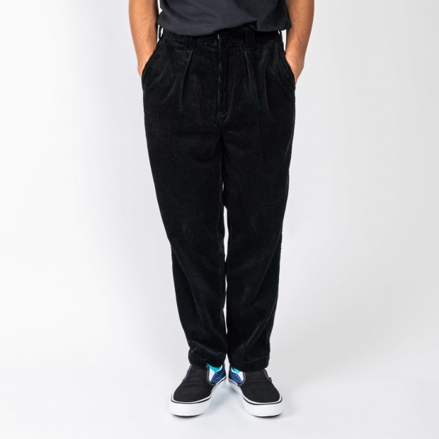 坩堝 - 478 CORDUROY TUCK PANTS