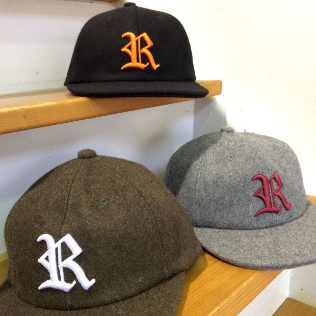 坩堝 WOOL OLD R 6 PANEL CAP