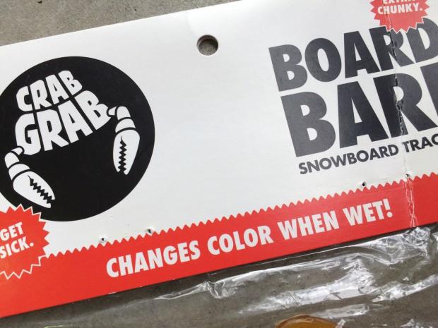 CRABGRAB BOARD BARF