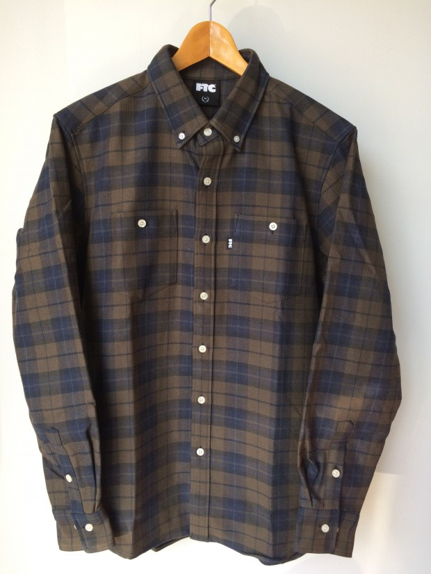 FTC - HEAVY PLAID NEL B.D SHIRT