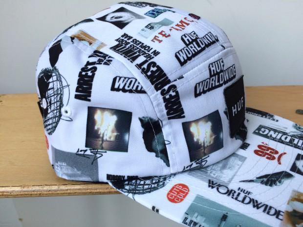 HUF HEADLINES HAT