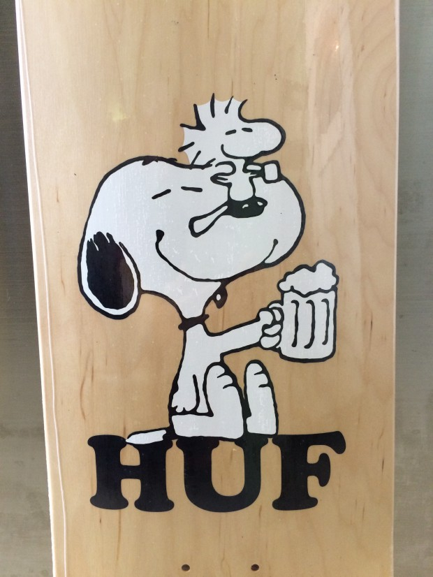 HUF  featuring PEANUTS 0.58.41