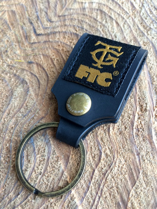 OMMY GUERRERO x FTC - LEATHER KEYHOLDER