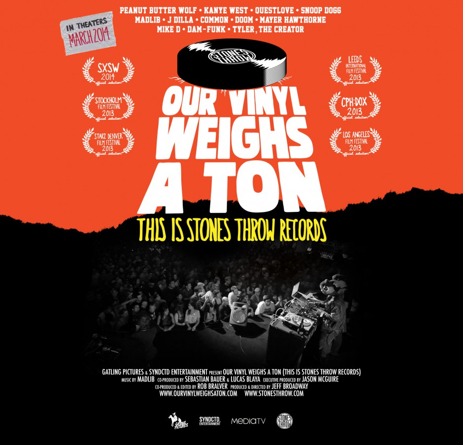 OUR VINYL WEIGHS A TON(THIS IS STONES THROW RECORDS