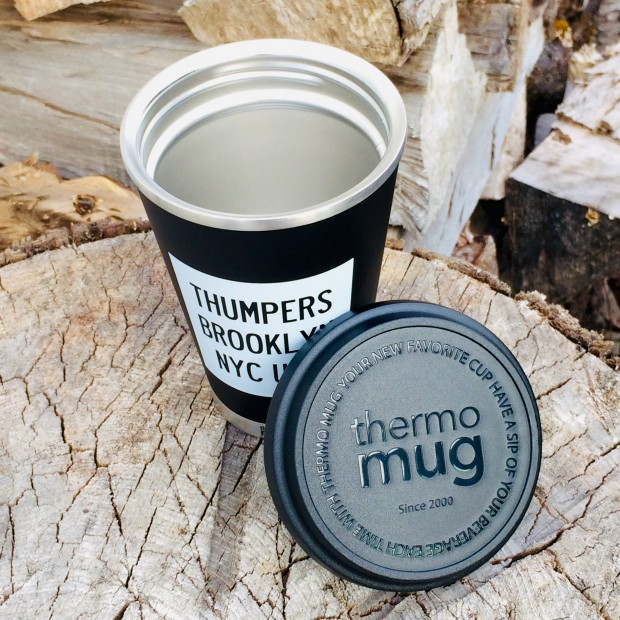 THUMPERS × thermo mug