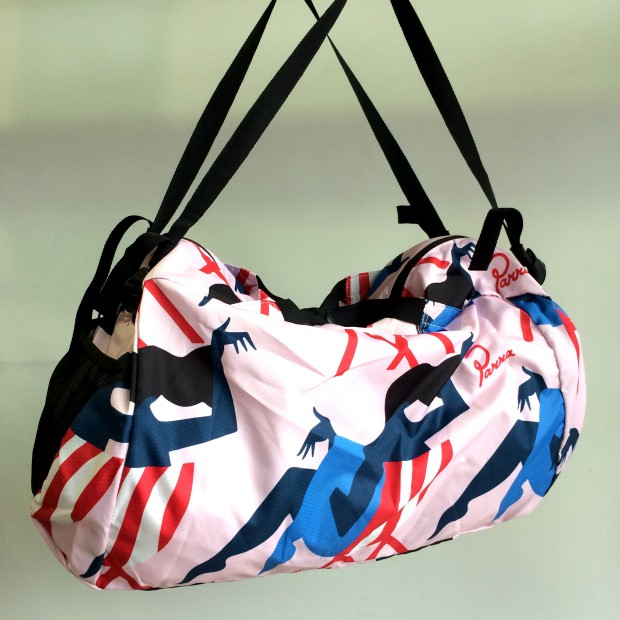 by Parra - madame beach fly weight duffel