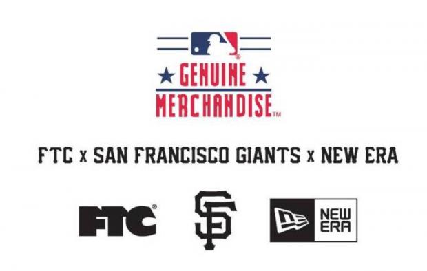 ftc x san francisco giants x new era