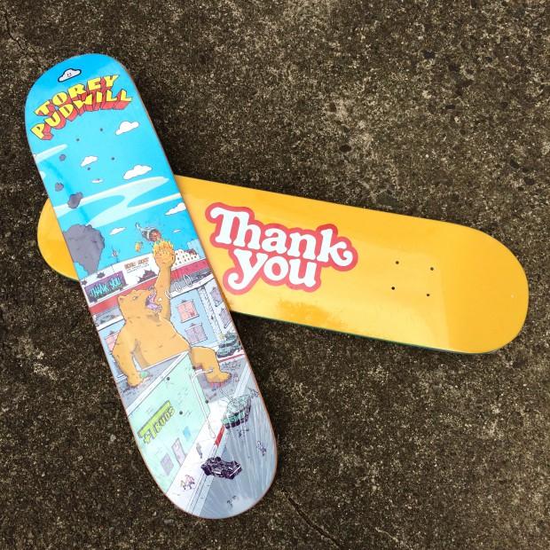 thankyou skateboard
